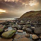 St Bees Rocks by Brian Kerr