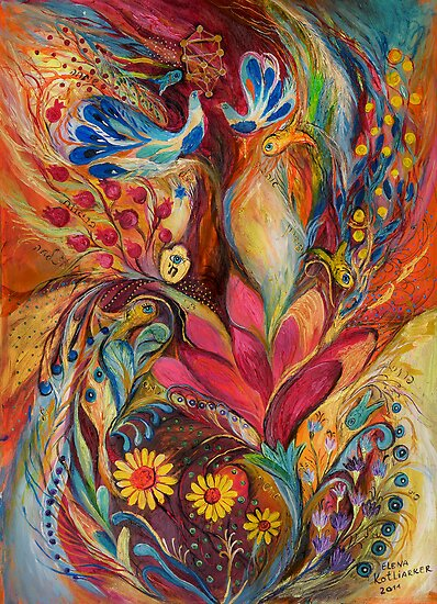 The Tree of Life by Elena Kotliarker