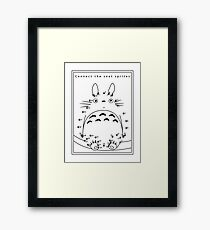 Connect the dots Framed Print