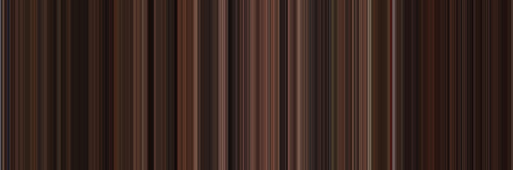 Moviebarcode: The Godfather: Part III (1990) [Simplified Colors] by moviebarcode