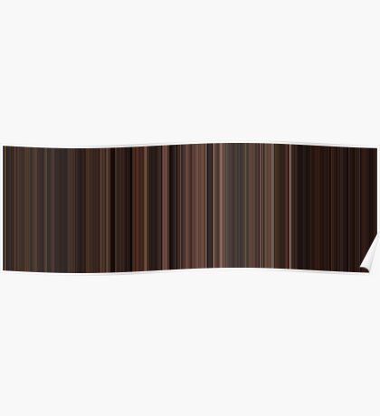 Moviebarcode: The Godfather: Part III (1990) [Simplified Colors] Poster