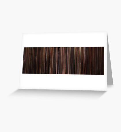 Moviebarcode: The Godfather: Part III (1990) Greeting Card