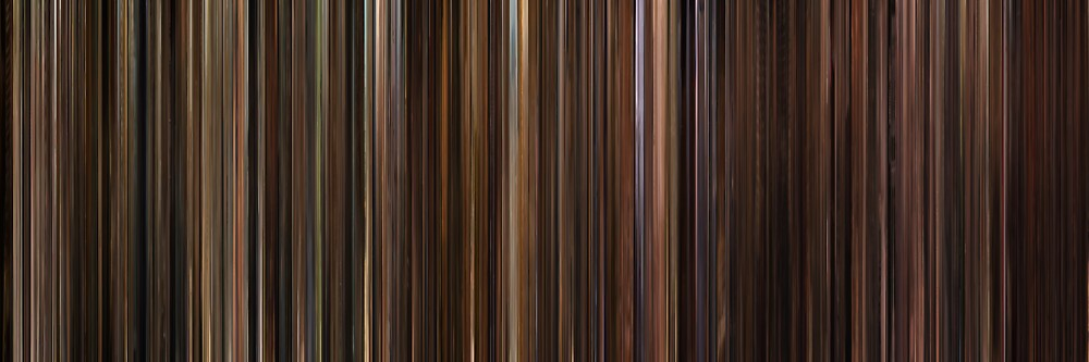 Moviebarcode: The Godfather Trilogy (1972-1990) by moviebarcode
