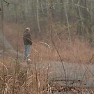 the hunter ponders by Elizabeth Rodriguez