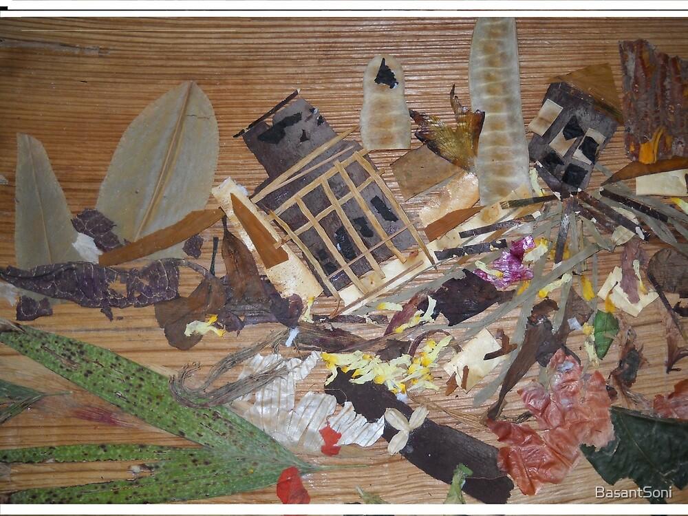 Destruction due to Calamity  by BasantSoni