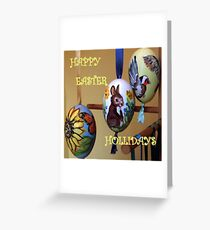 HAPPY EASTER HOLLIDAY Greeting Card