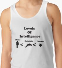 Levels of Intelligence Tank Top
