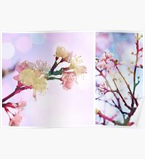 Blossom #3 | Diptych Poster
