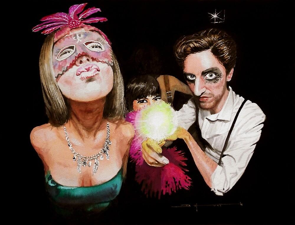 Masked Ball #2 by Douglas Hunt