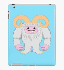 White toothy yeti iPad Case/Skin