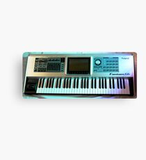 Roland Keyboard Canvas Print