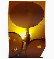Yellow Light And Symbol Poster