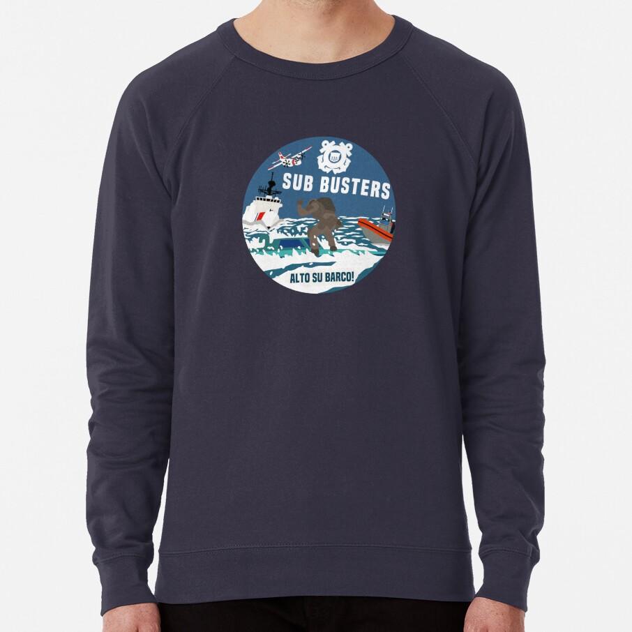 Coast Guard Sub Busters Lightweight Sweatshirt