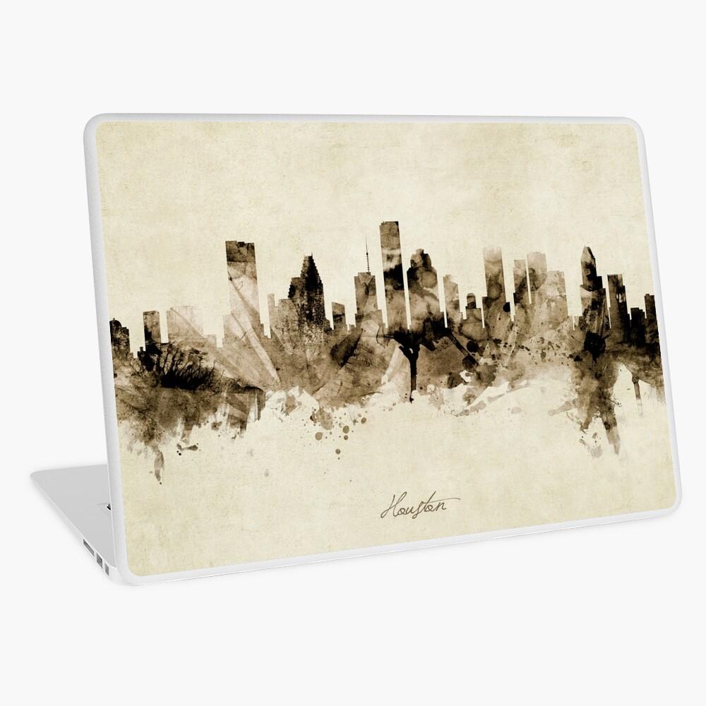 Houston Texas Skyline Laptop Skin