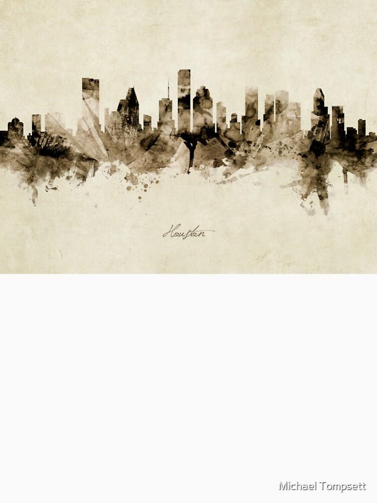 Houston Texas Skyline by ArtPrints