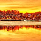 A Meredith Christmas, NH on Lake Winnipesaukee by Bruce Taylor