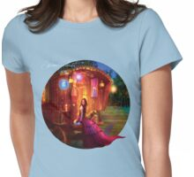 Wanderlust Womens Fitted T-Shirt