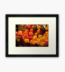 Peppers! Framed Print