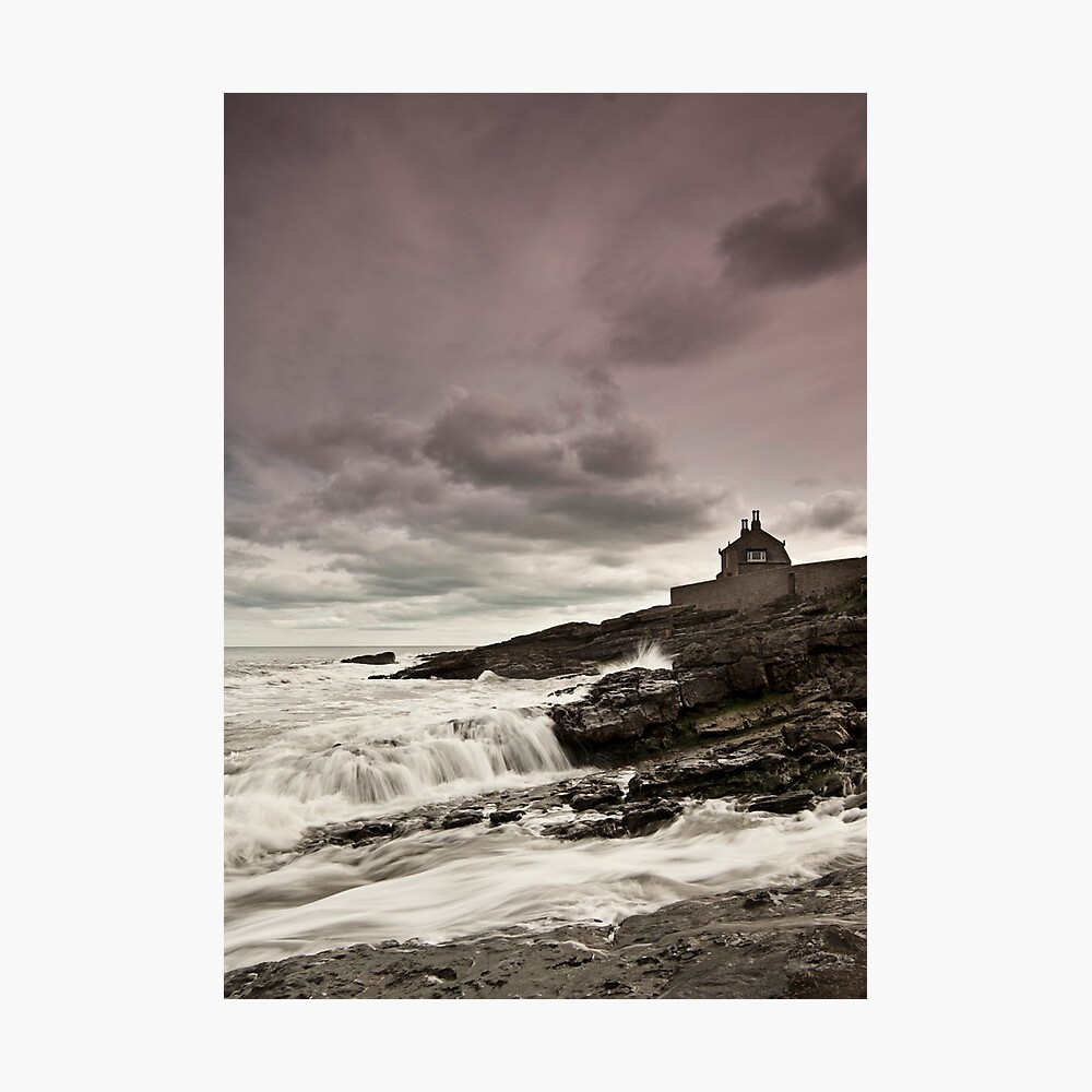The bathing house Photographic Print