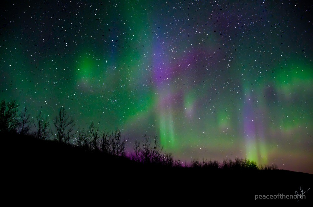 A Celestial Tapestry of Colour by peaceofthenorth