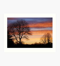 Markeaton Park, Derby Art Print