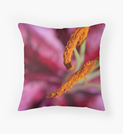 Mothers Day Lily 3 Throw Pillow