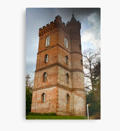 Gothic Tower Metal Print