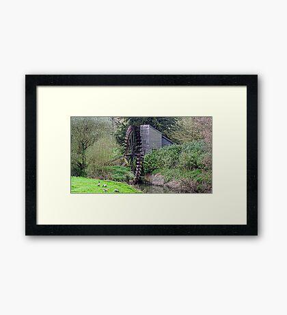 Waterwheeel Framed Print