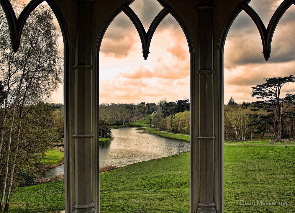 Lake view from Gothic Temple by Dean Messenger