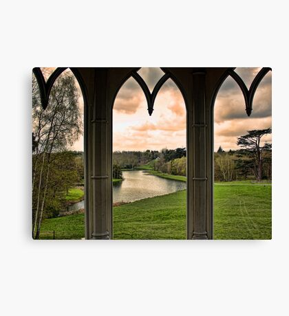 Lake view from Gothic Temple Canvas Print