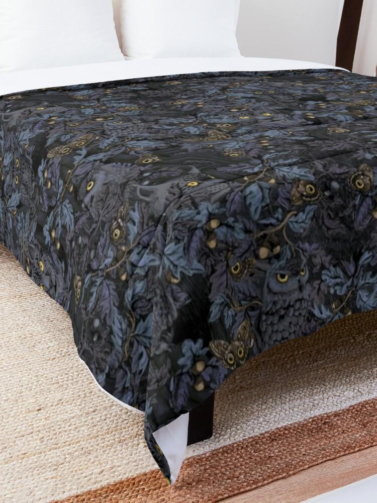 Alternate view of Fit In (moonlight blue) Comforter