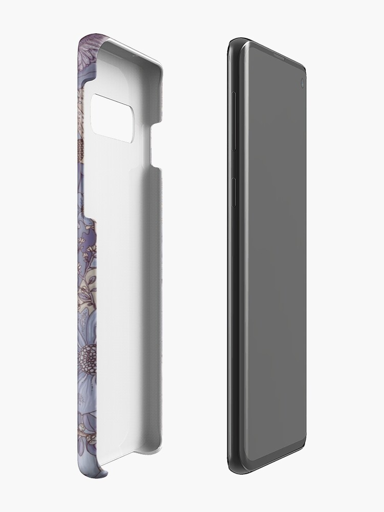 Alternate view of The Wild Side - Lavender Ice Case & Skin for Samsung Galaxy