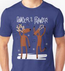 Dancer & Prancer Unisex T-Shirt