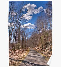 collinsville bike trail Poster