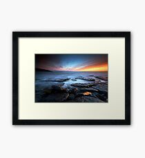 Southerndown Sundown Framed Print