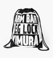 Jiu Jitsu - Arm Bar, Leg Lock, Kimura Drawstring Bag