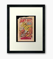Ant Man Comic  Framed Print