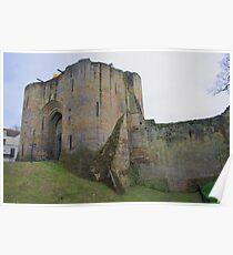 Tonbridge Castle, The Gatehouse From The Moat Poster