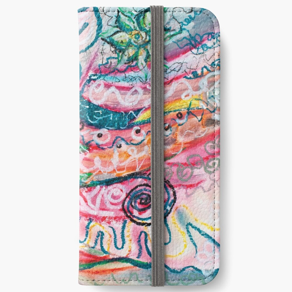 abstract concentric nature creation iPhone Wallet