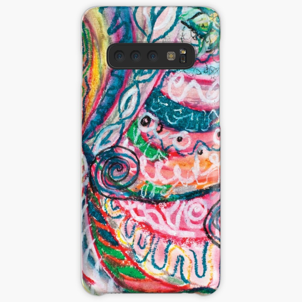 abstract concentric nature creation Samsung Galaxy Snap Case