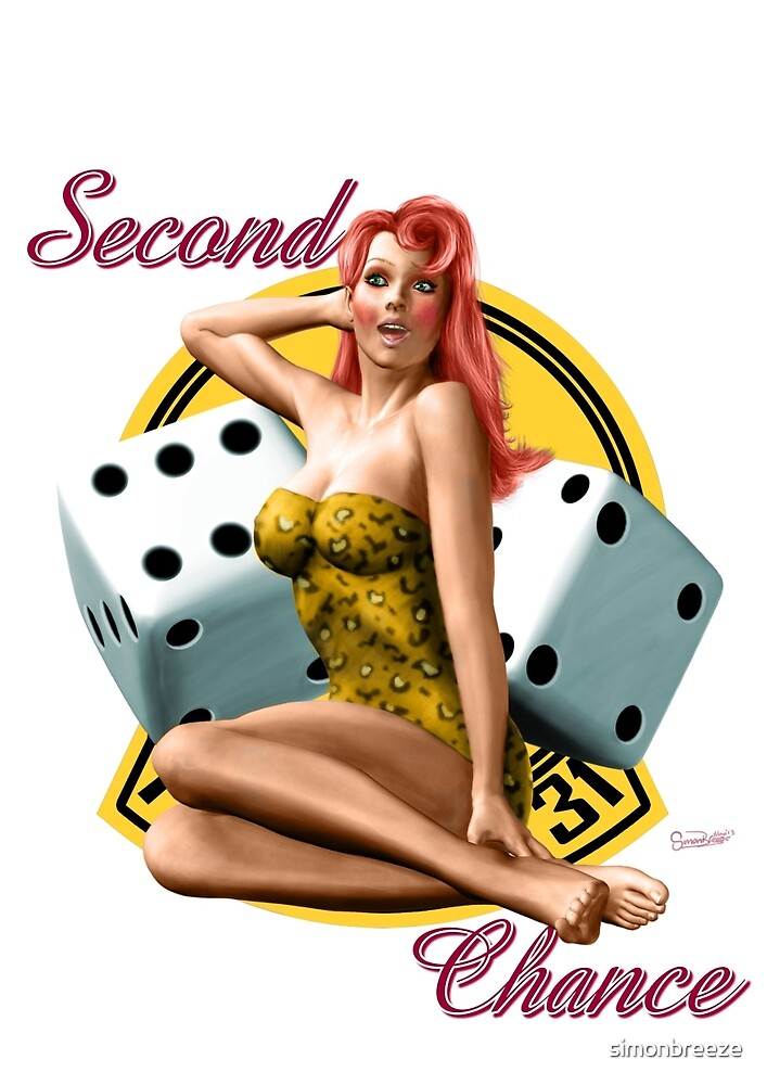 Second Chance Classic Pin Up by simonbreeze