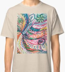 abstract concentric nature creation Classic T-Shirt