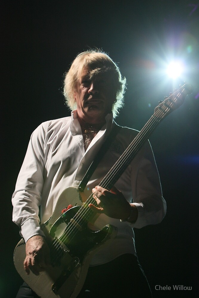 Rick Parfitt by Chele Willow