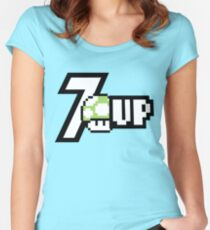 7Up Women's Fitted Scoop T-Shirt