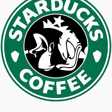 Starducks Coffee by Kiji