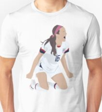 Rose Lavelle - # 16 - USWNT - Goal Victory Pose  Slim Fit T-Shirt