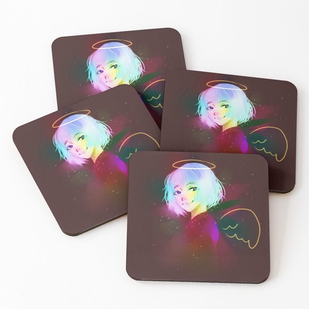 Angel Coasters (Set of 4)