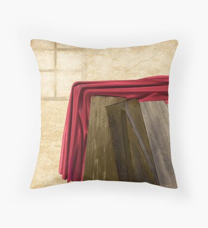 """""""Something Left Behind"""" Throw Pillow"""