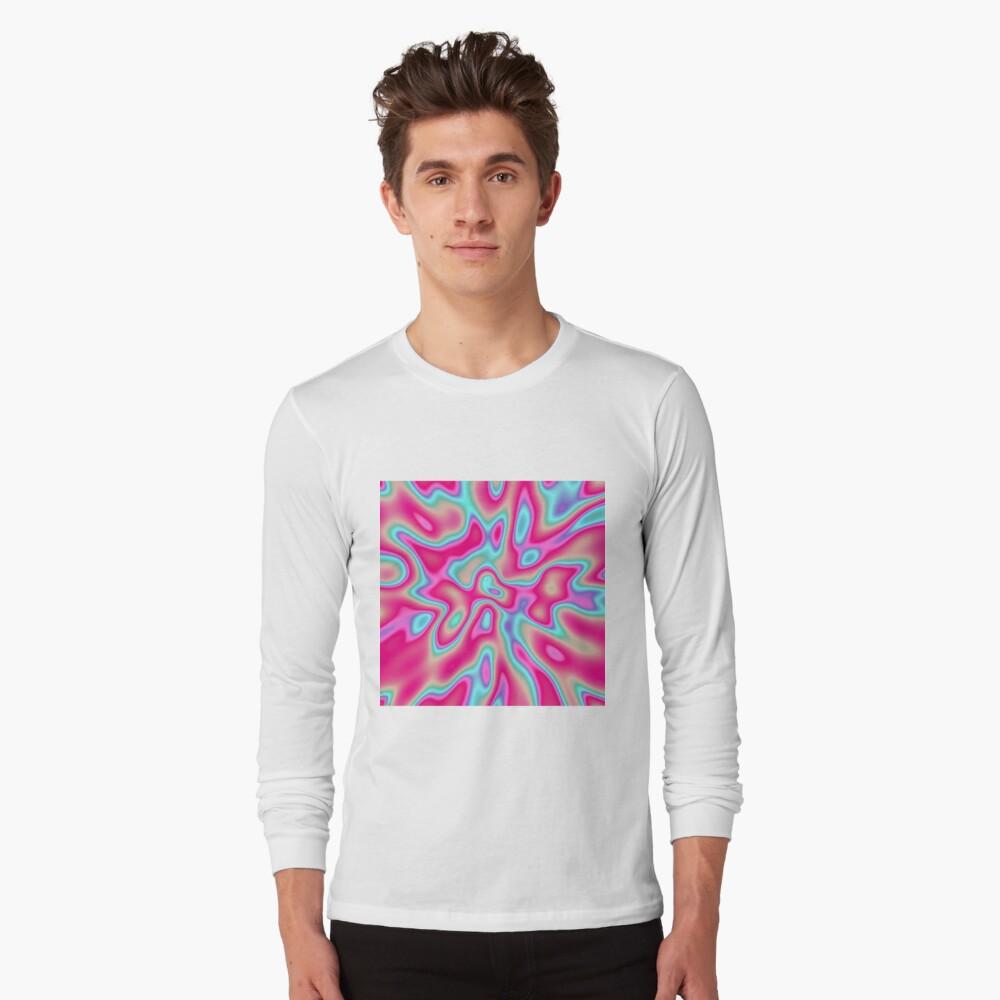 Abstract random colors #4 Long Sleeve T-Shirt