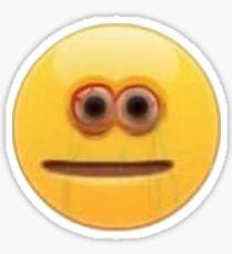 heavy breathing meme Sticker